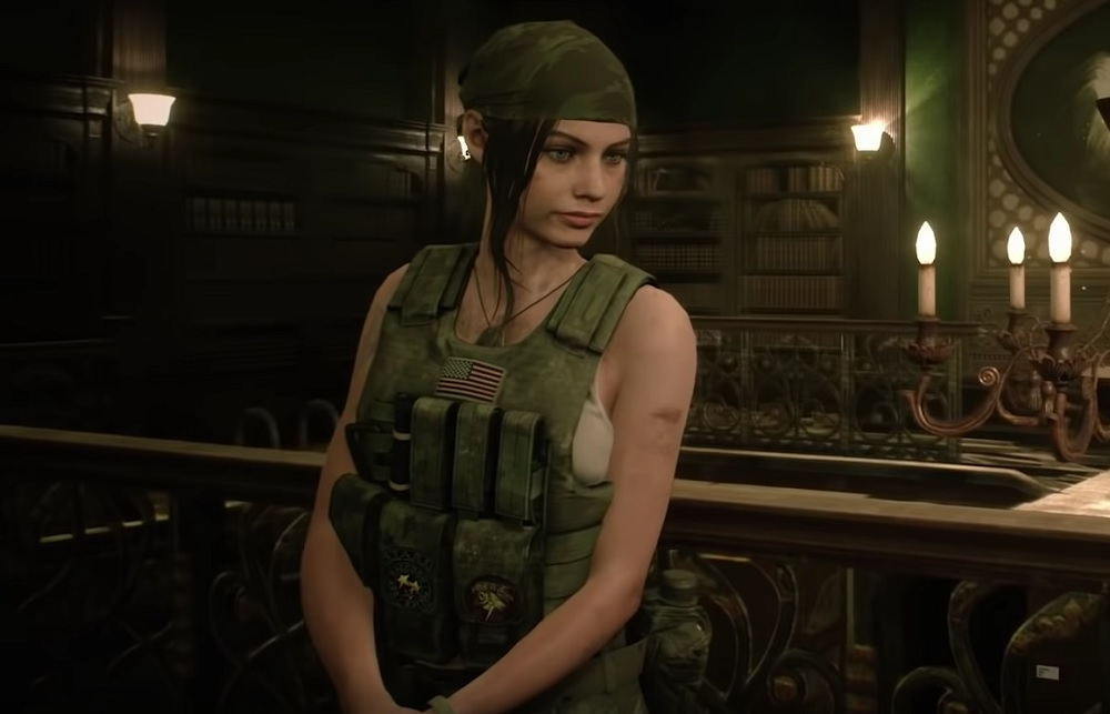 Claire Redfield Sells Complete Indifference To Her Merc Gear In