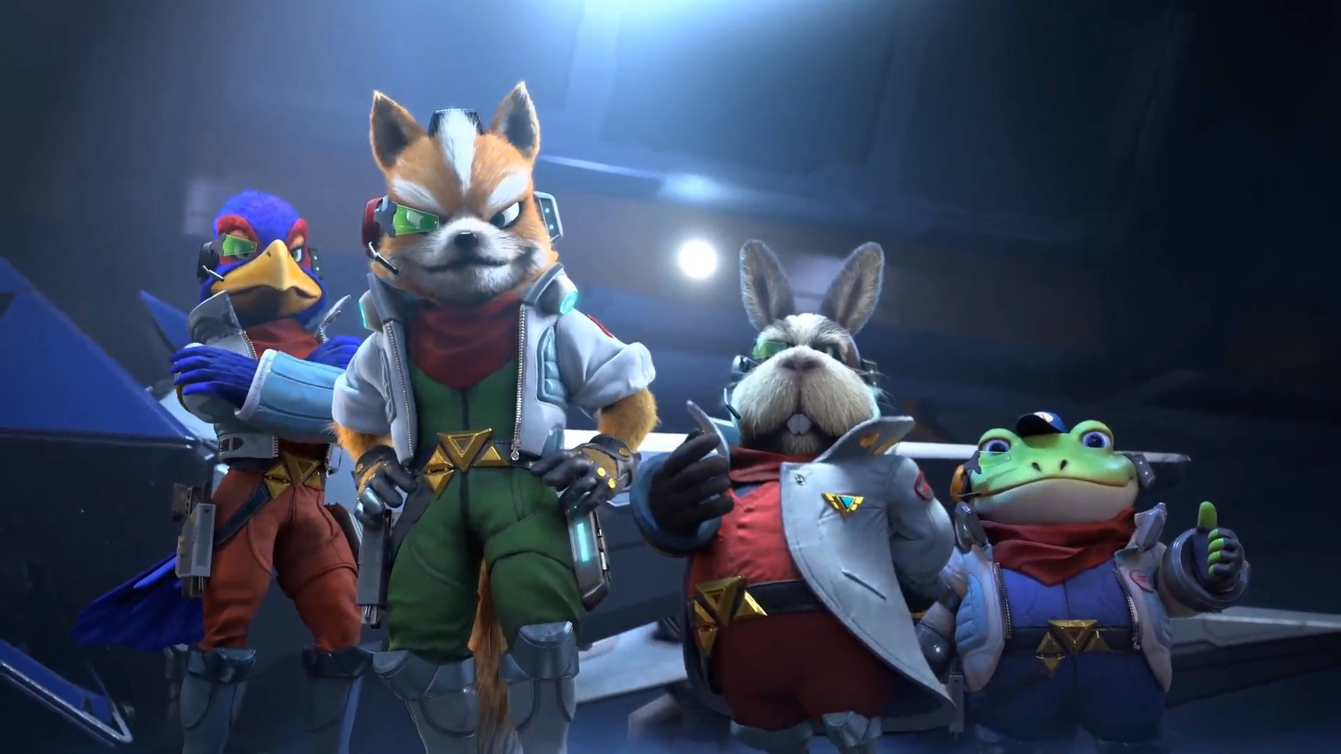 Starlink developers had Star Fox mockups before Nintendo even agreed to the partnership screenshot