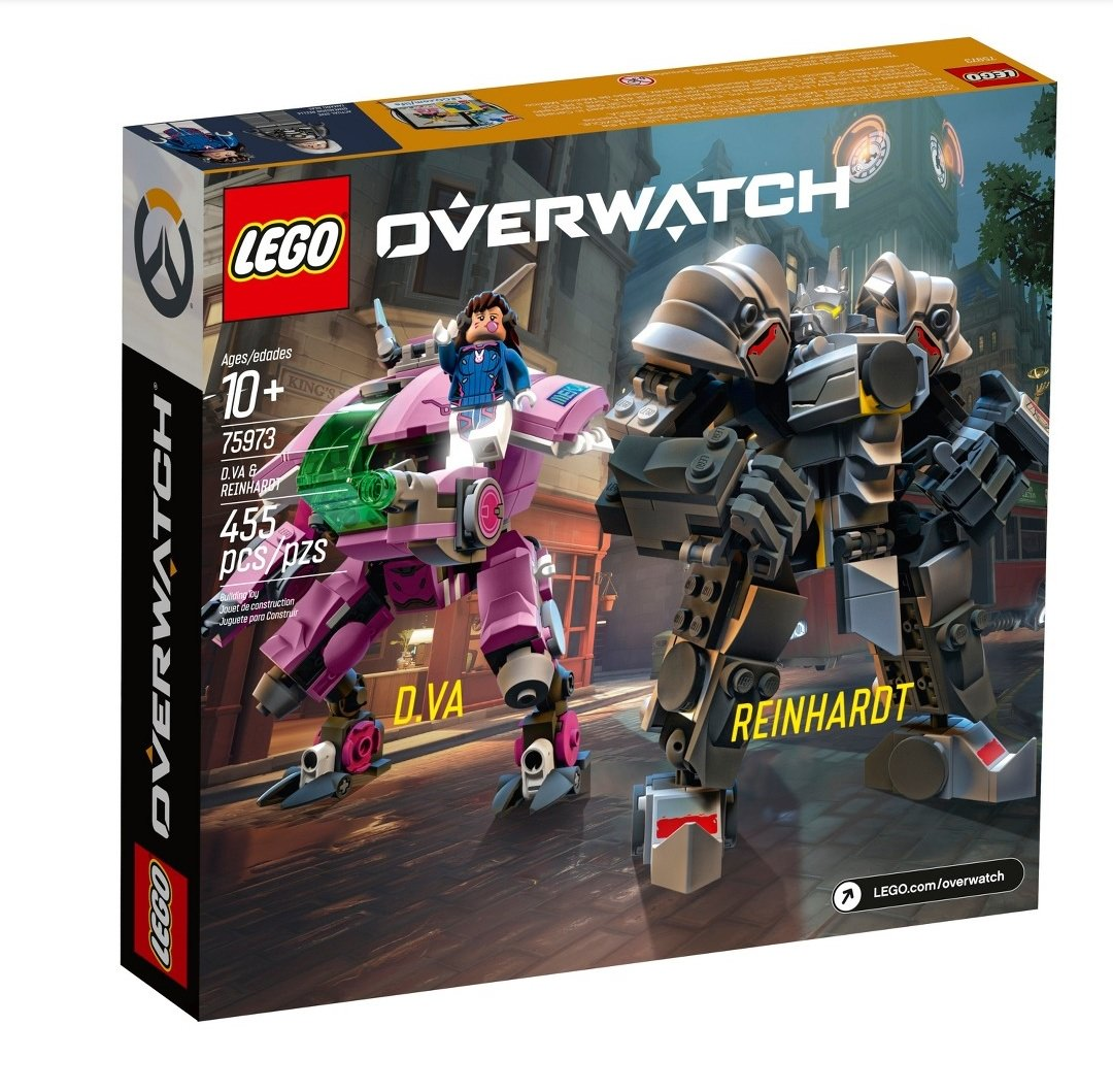 Overwatch Lego Leak Includes Mercy And The Cutest Little Reaper You