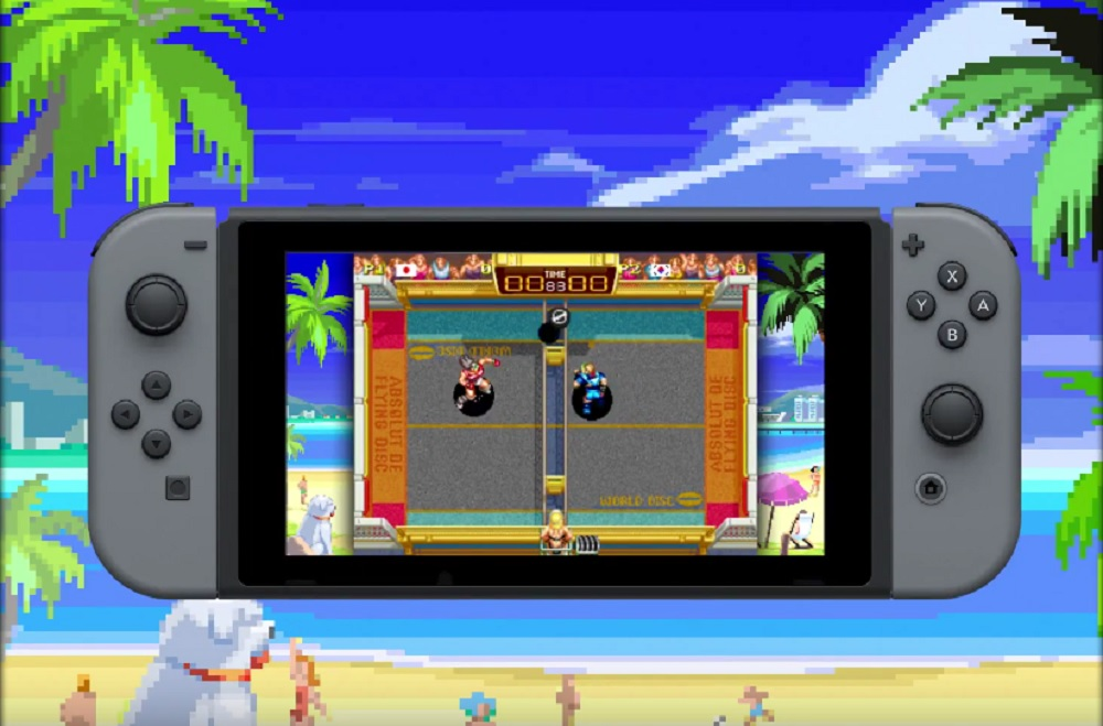 Windjammers is available today on Nintendo Switch screenshot