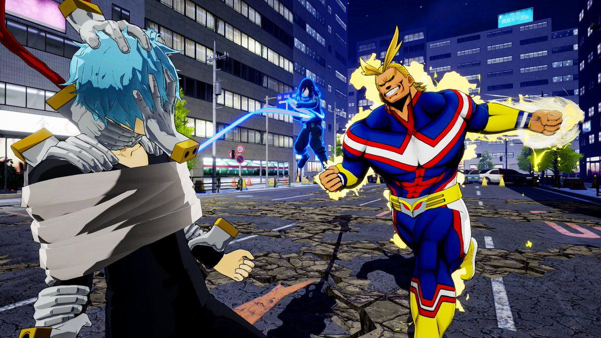 Nintendo Download: My Hero's One Justice screenshot