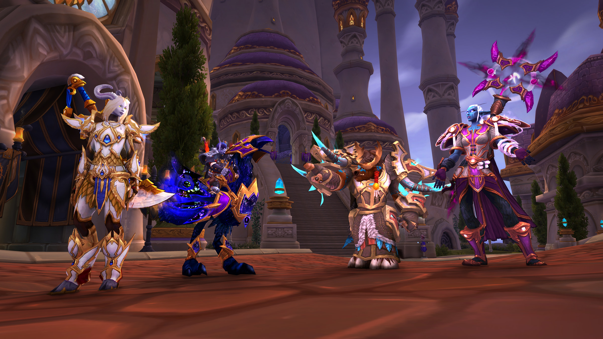 Have you been using World of Warcraft's Allied Races feature? screenshot