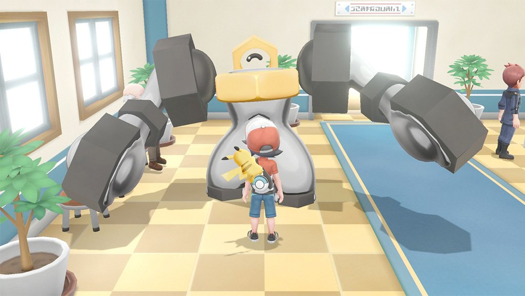 The mythical Pokemon Meltan has a beefy evolution screenshot