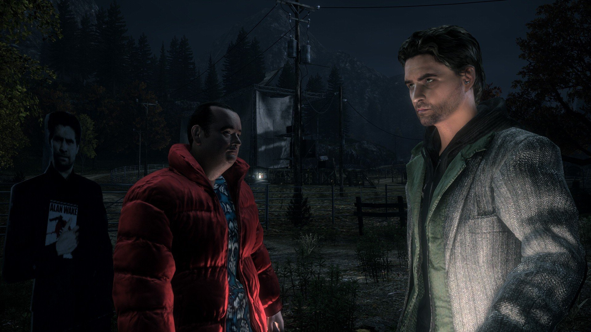 Alan Wake is back on Steam screenshot