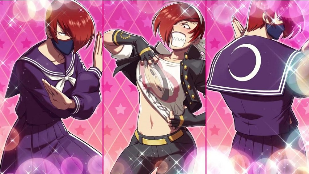 Miss X sizzles in SNK Heroines: Tag Team Frenzy screenshot