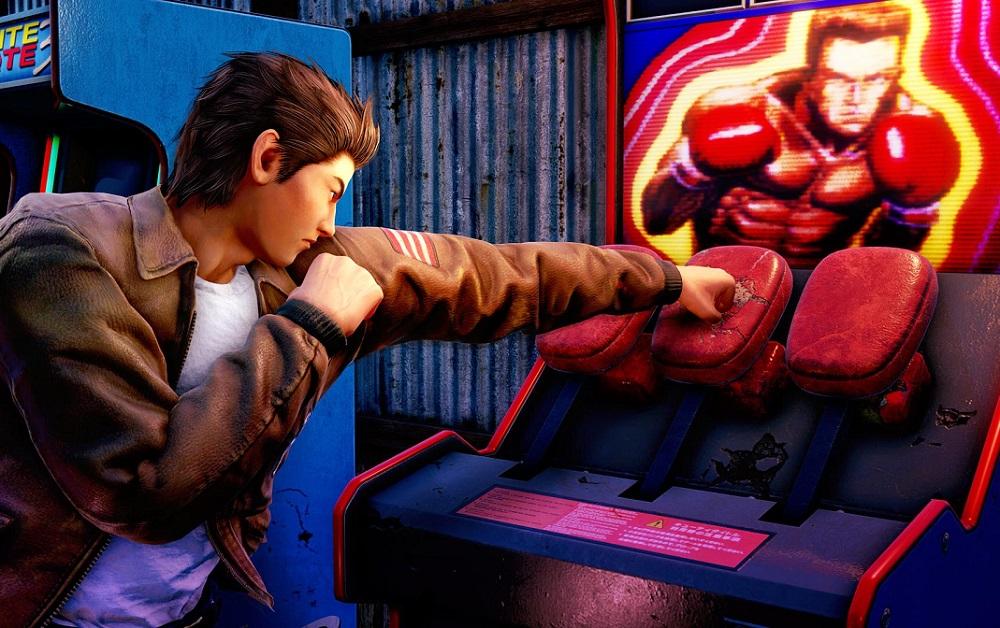 New Shenmue III screens show Ryo back down the arcade screenshot