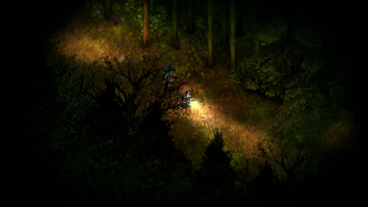The spooky yet beautiful Yomawari: The Long Night Collection is out soon on Switch screenshot