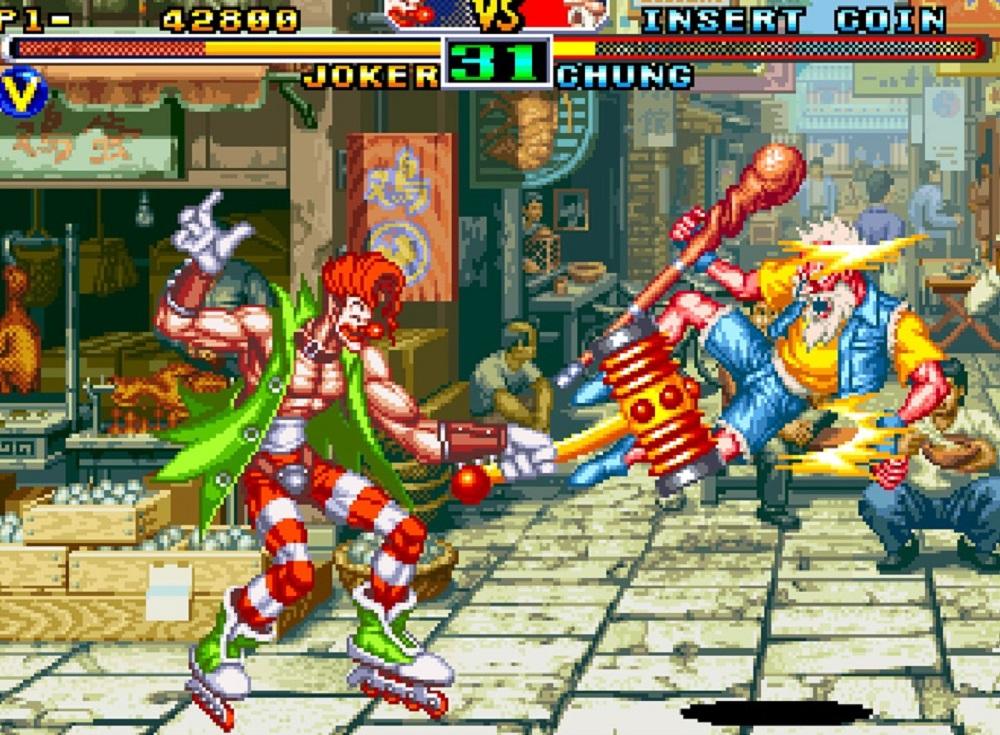 Weird SNK fighter Savage Reign is back to brawl on modern platforms screenshot