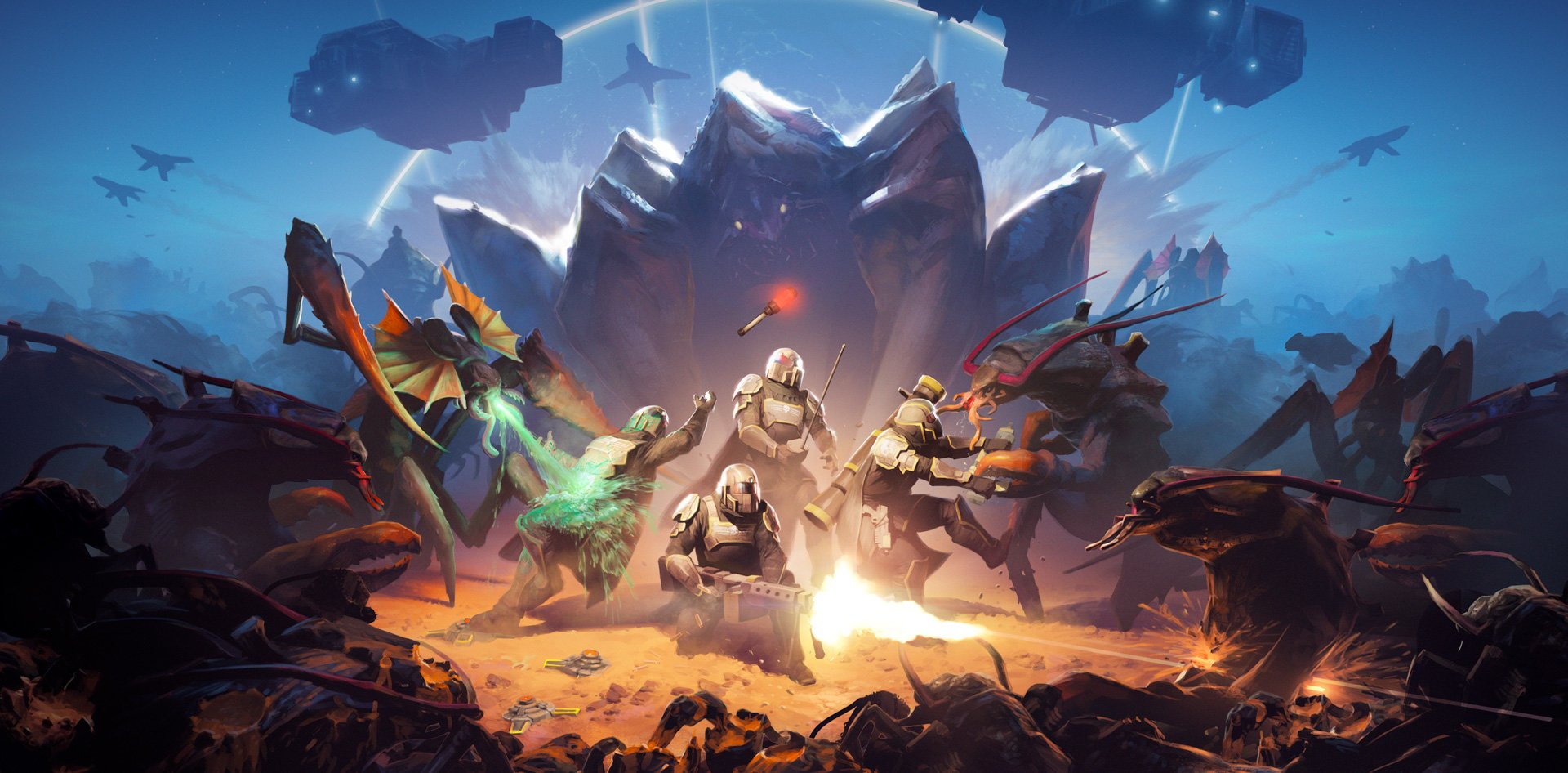 Helldivers returns with a tough update and a free weekend screenshot