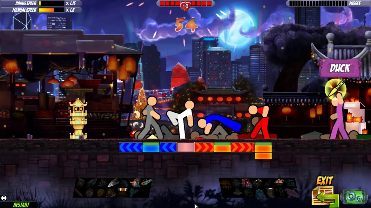 One Finger Death Punch 2 developer: 'We hid secret games in the sequel and if no one finds them, that's okay' screenshot