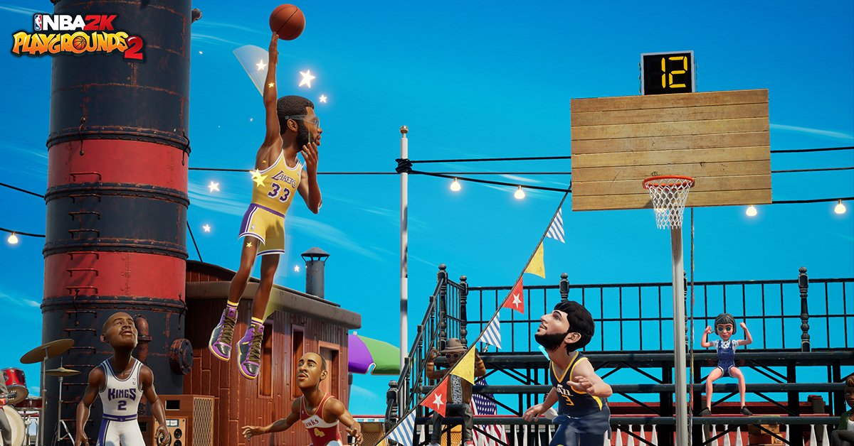 Review: NBA 2K Playgrounds 2