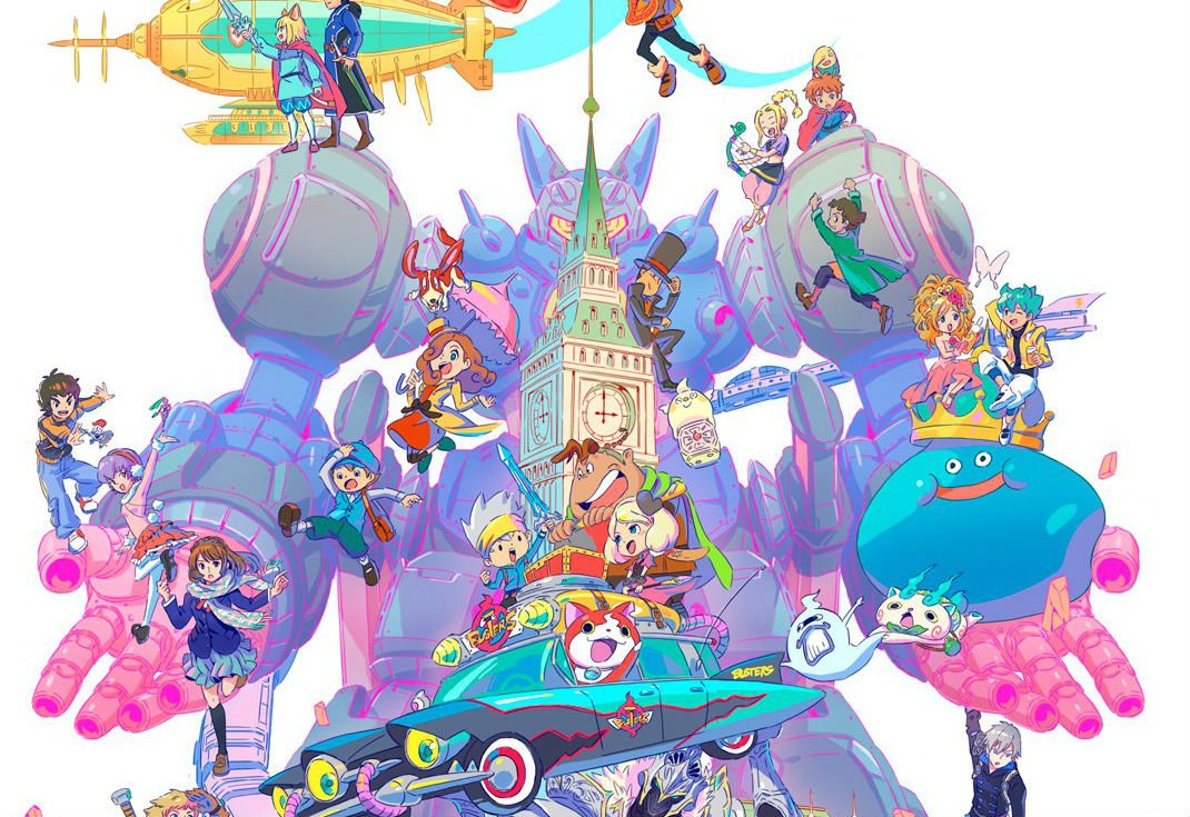 Level-5's  20th anniversary art is stunning screenshot