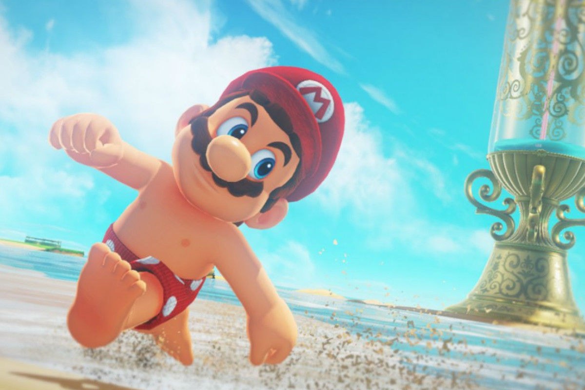 Super Mario Odyssey is one year old this week, here's some art to celebrate screenshot