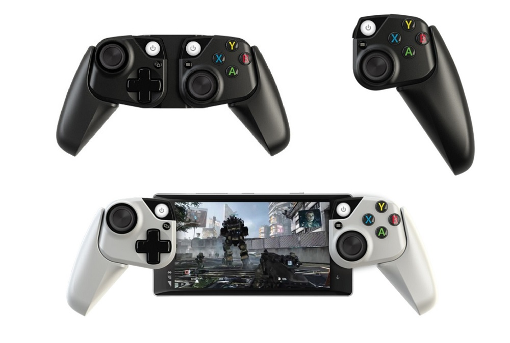 Images of prototype mobile Xbox controllers surface screenshot