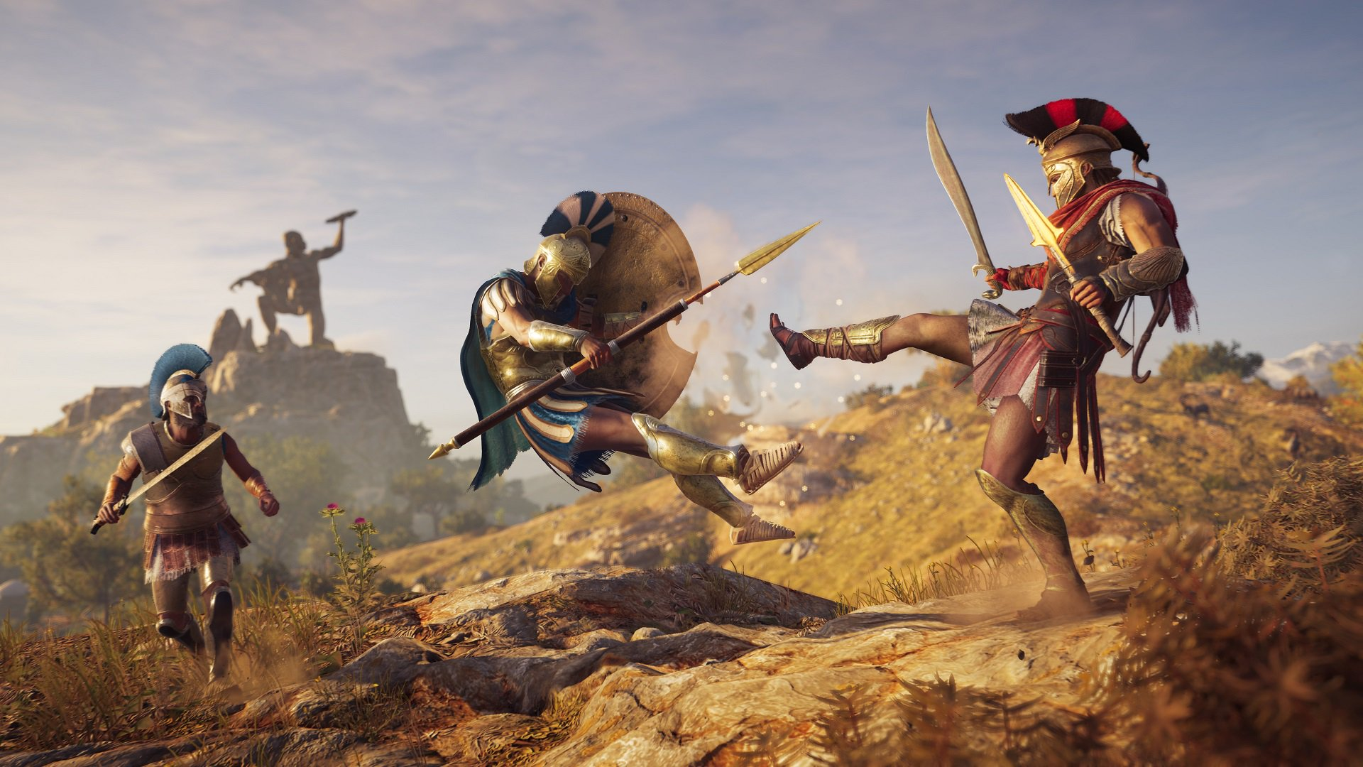 Assassin's Creed Odyssey can't get its Mercenary events to work screenshot