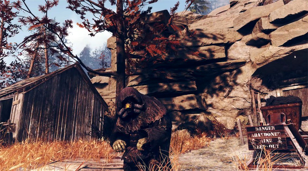The PC beta for Fallout 76 has a game deleting bug screenshot