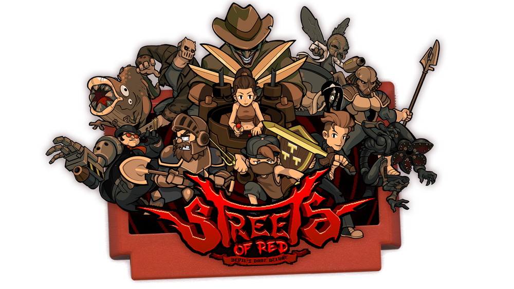 The new Halloween bosses for Streets of Red are Switch exclusive for now screenshot