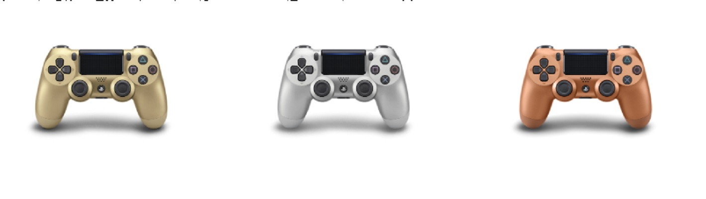 Sony completes the Olympic medal-flavored DualShock 4 trifecta screenshot