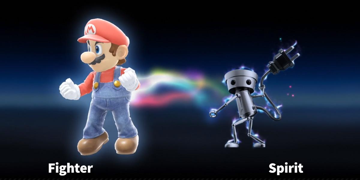 Nintendo confirms oddball Pokemon-esque 'spirit system' for Super Smash Bros. Ultimate screenshot