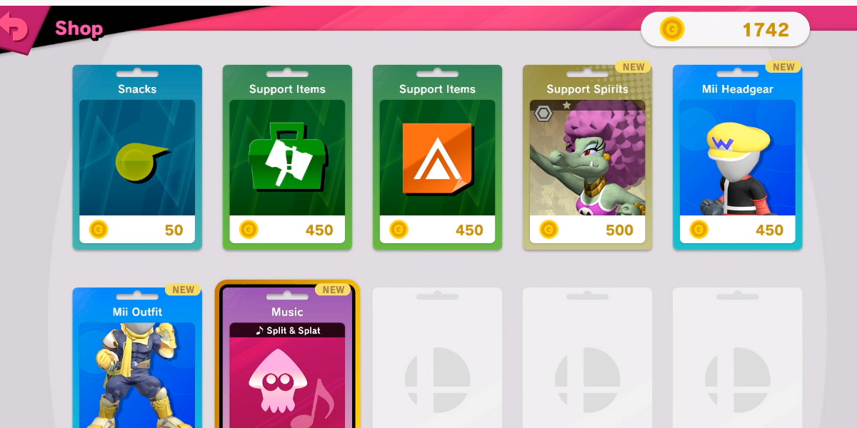 Super Smash Bros. Ultimate will have an in-game shop, supports 11 languages screenshot