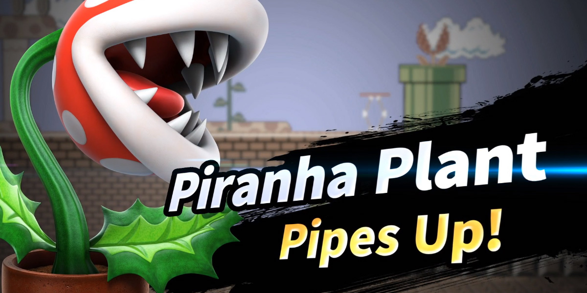 Smash Ultimate will have a free DLC character: Piranha Plant screenshot