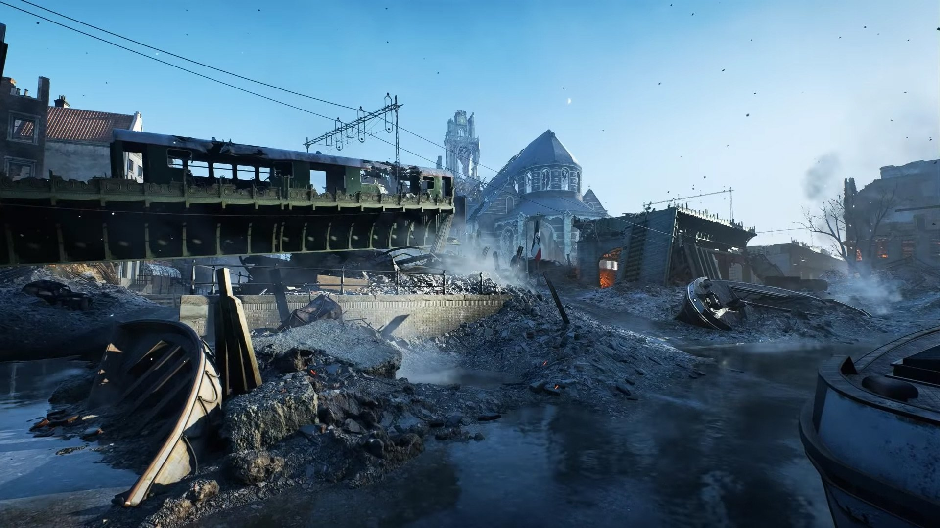 Battlefield V will launch with these eight maps screenshot