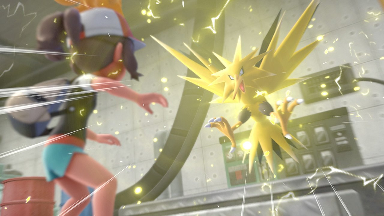 You can't use a Pro Controller for Pokemon: Let's Go screenshot