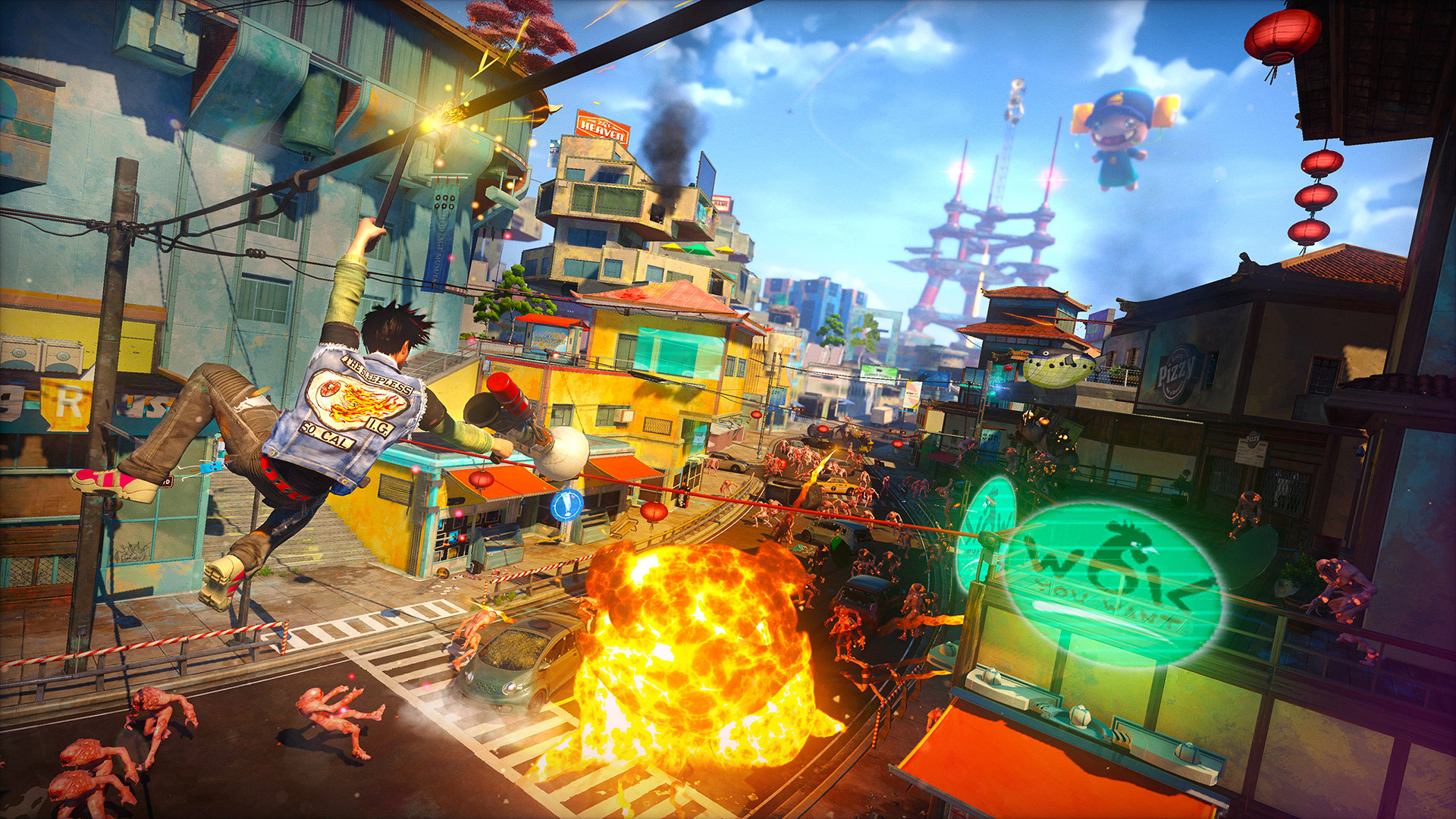 It sure looks like Sunset Overdrive is coming to PC screenshot