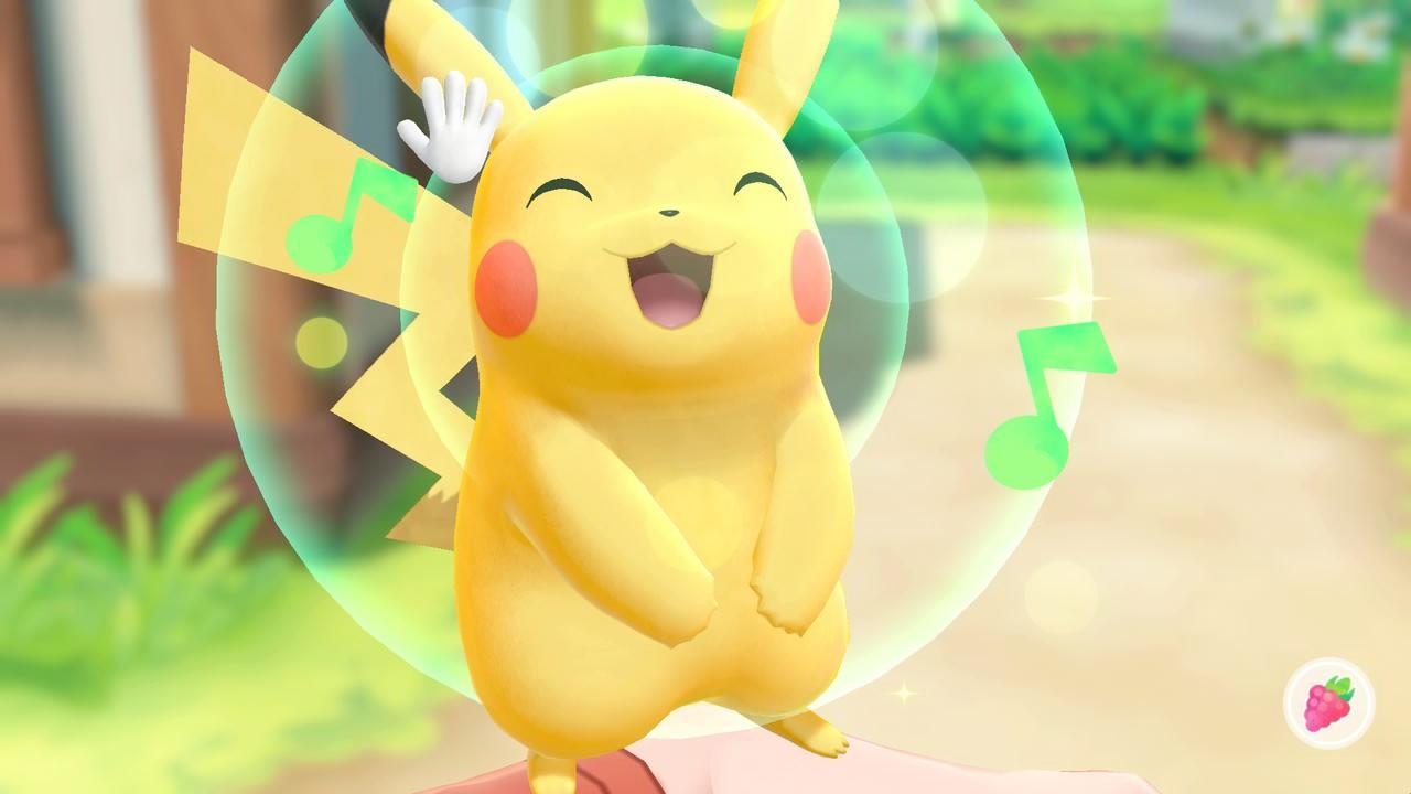 Review: Pokemon Let's Go Pikachu & Eevee screenshot