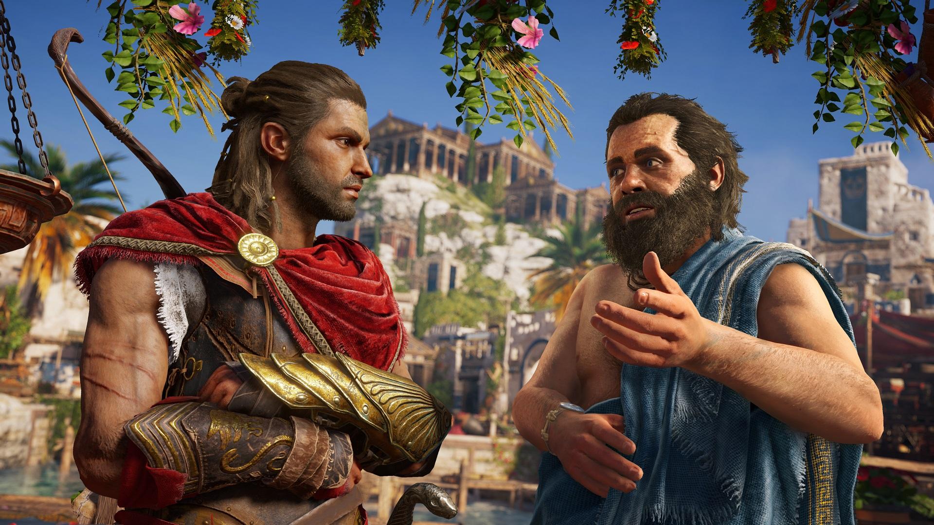 Assassin's Creed Odyssey got a good little piece of free DLC today screenshot