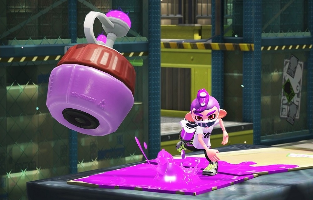 There may be no hiding from Splatoon 2's Torpedo Sub screenshot