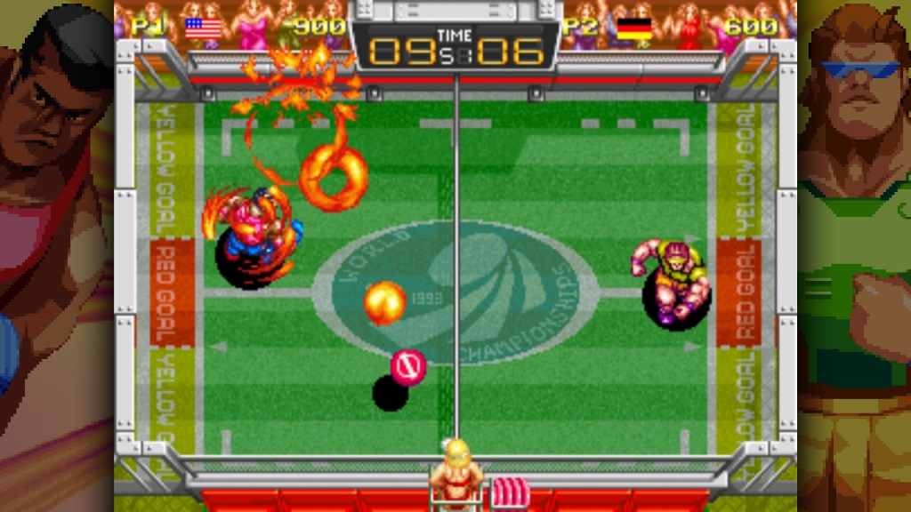 Contest: Win a Switch key for Windjammers screenshot