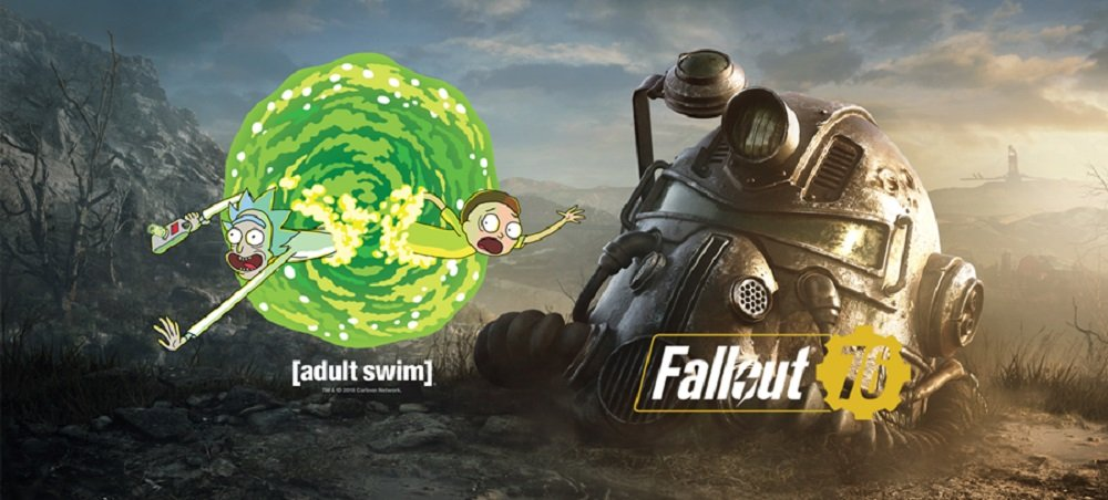 The unholy union of Rick and Morty, Ninja and Logic are playing Fallout 76 next week screenshot