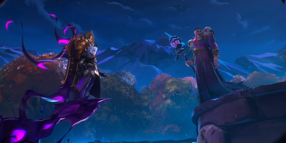 Heroes of the Storm introduces 'Orphea,' an original Blizzard character screenshot