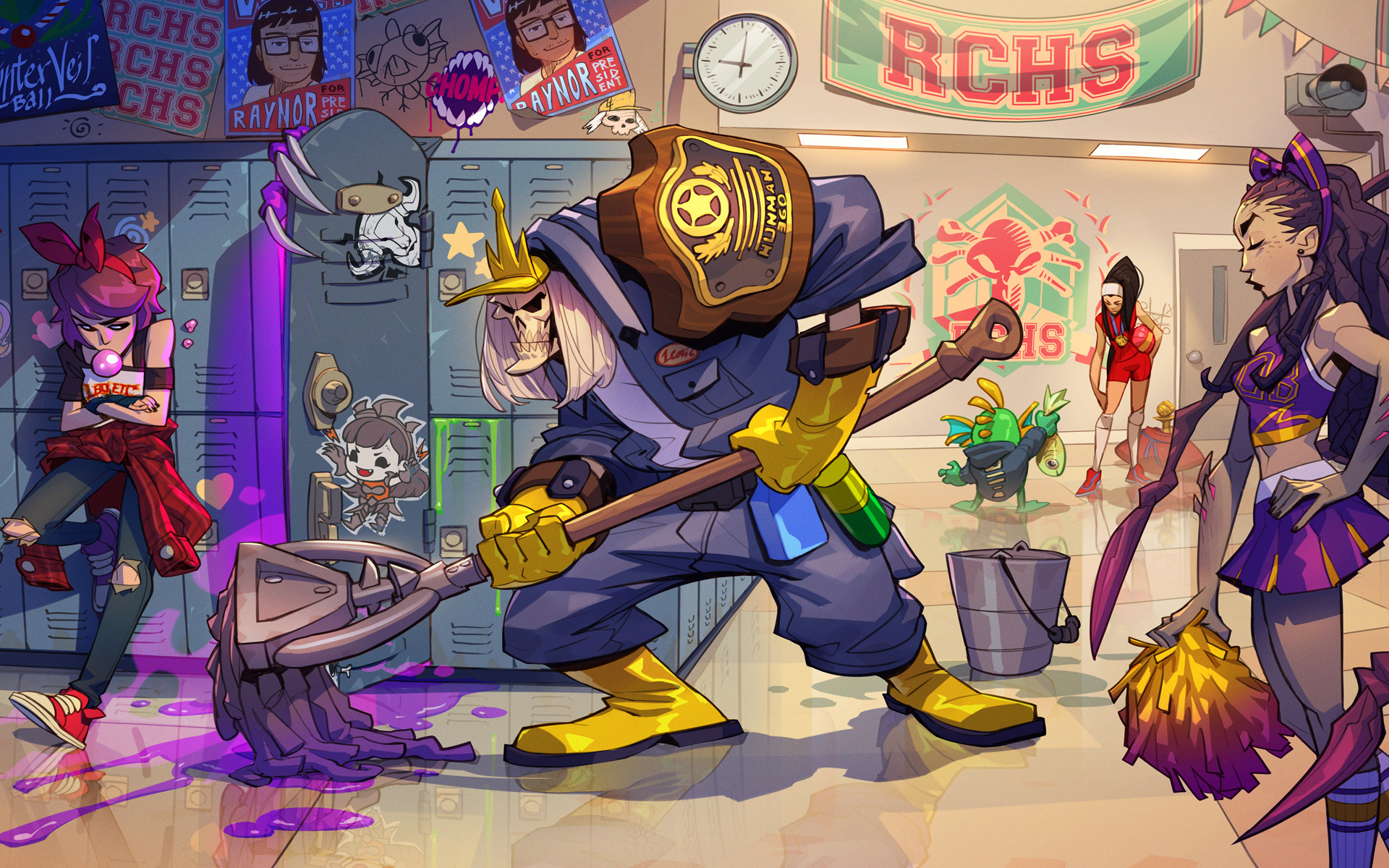 Blizzard is actually making a Janitor Leoric skin for Heroes of the Storm screenshot