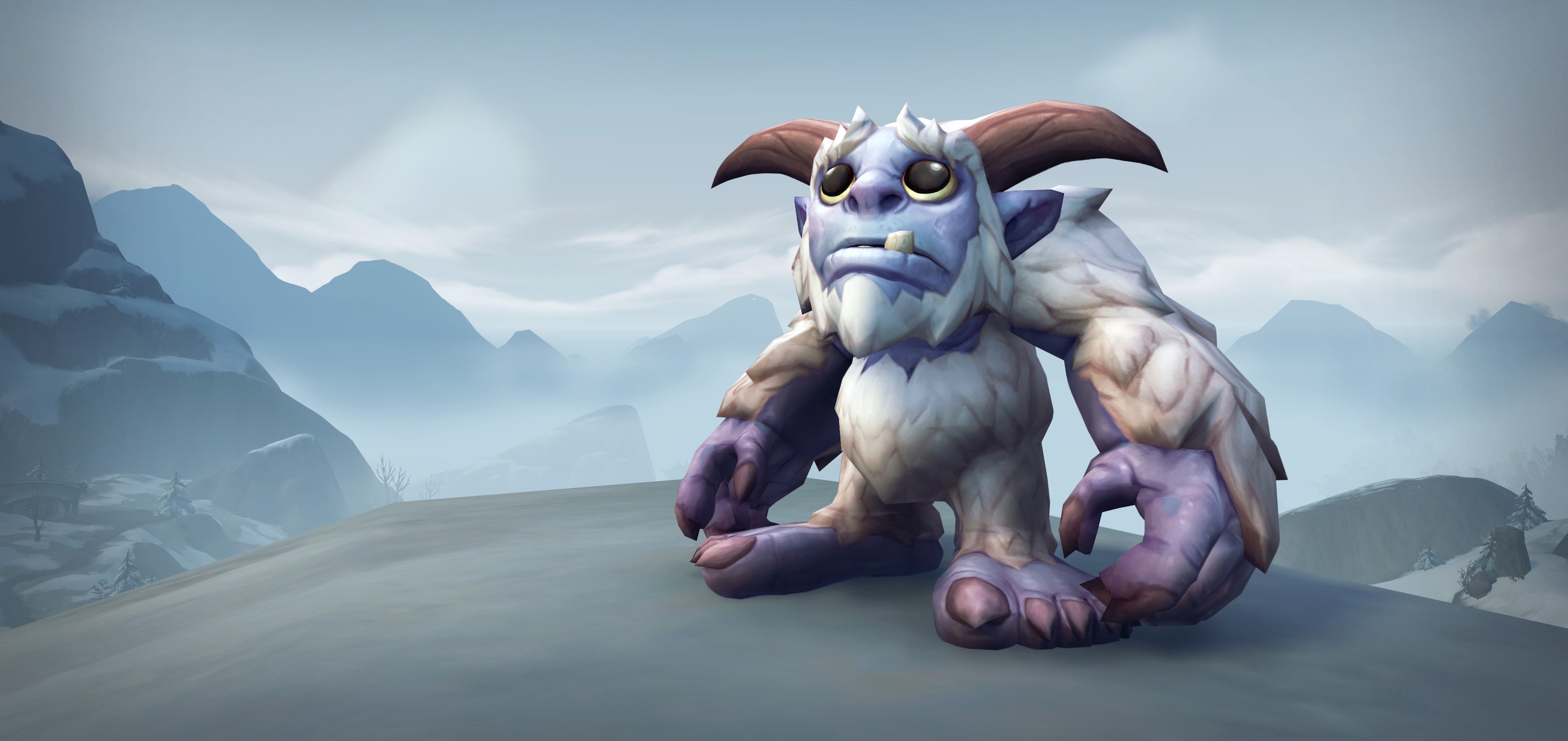 You can adopt the cute little Whomper in World of Warcraft to support charity screenshot