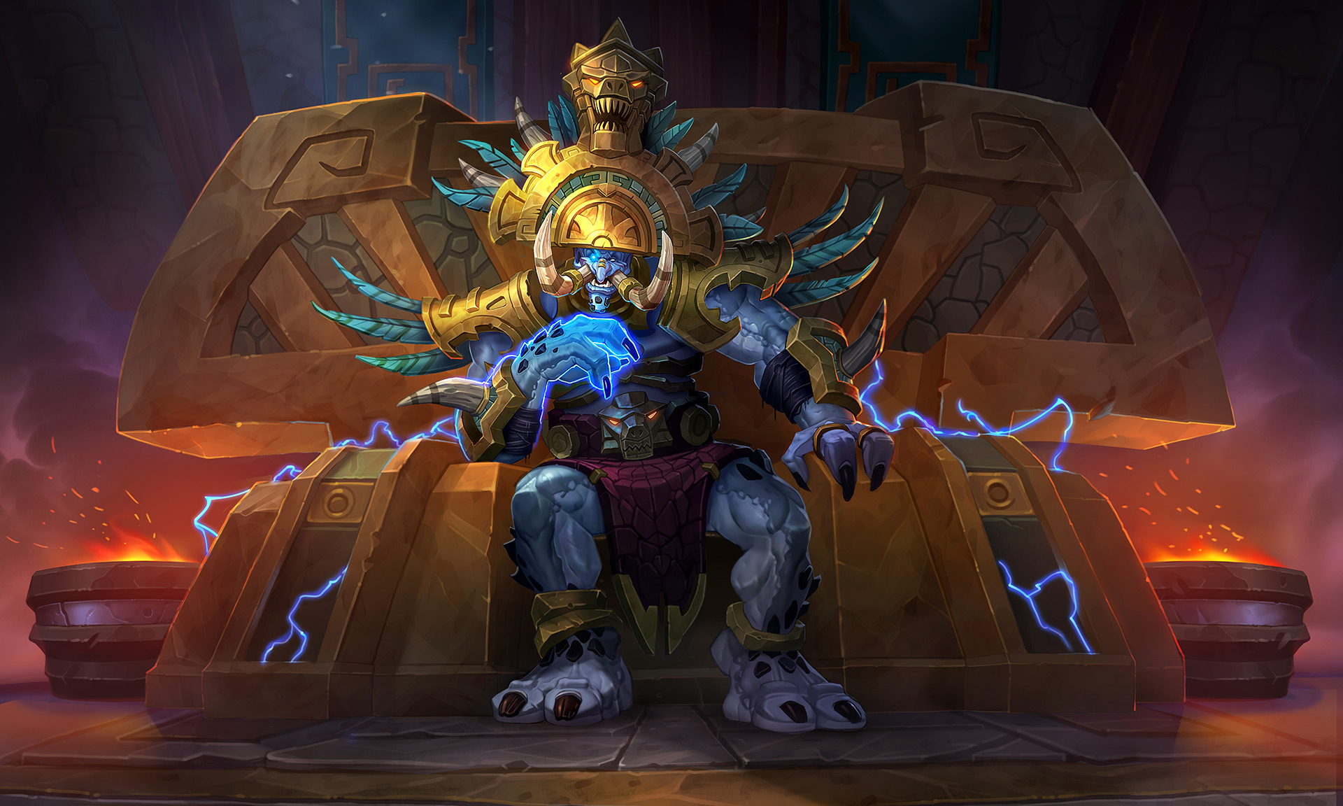 Blizzard pays the Troll Toll: Hearthstone's next expansion is Rastakhan's Rumble screenshot