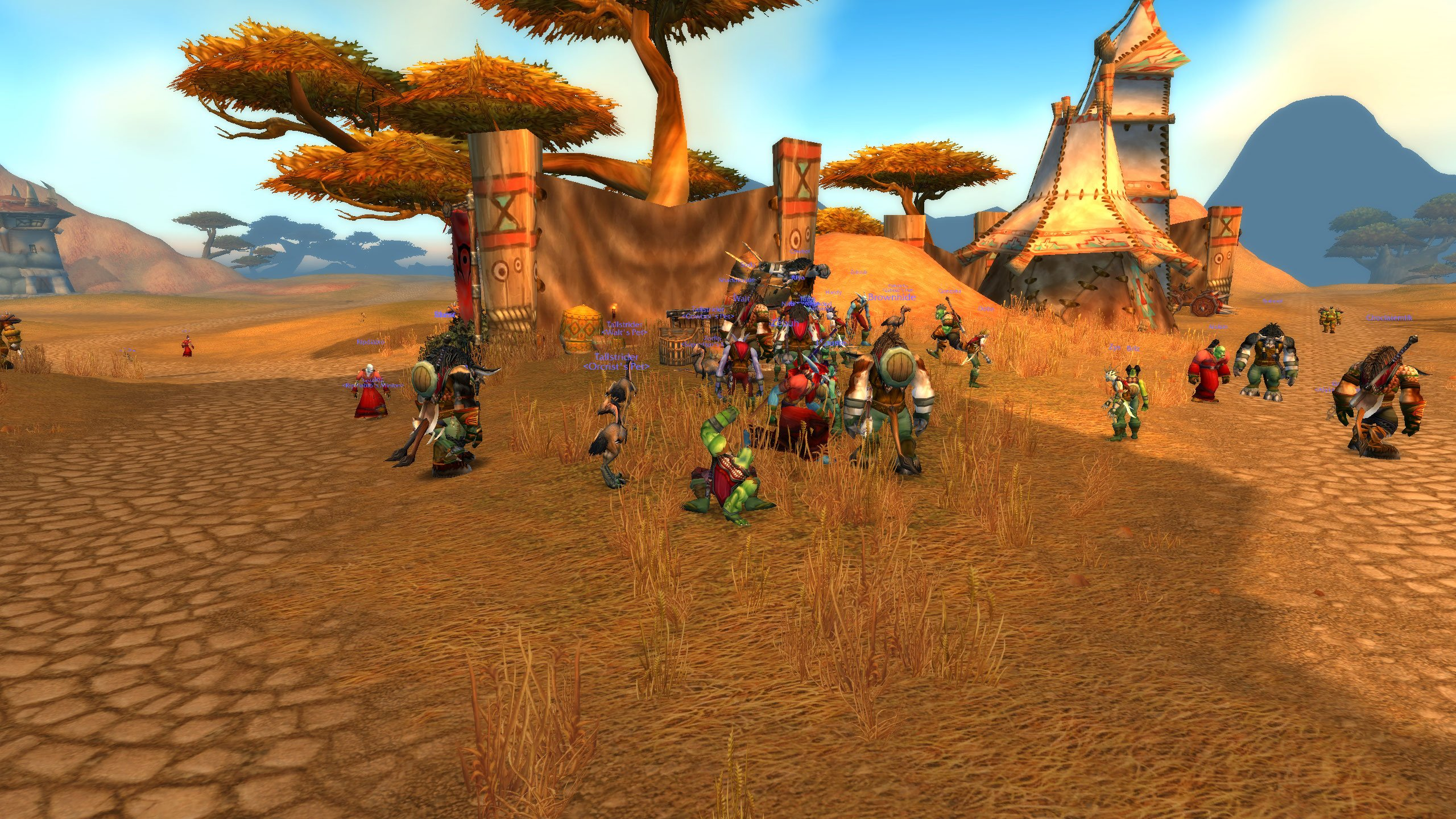 Here's a bunch of screens from the World of Warcraft Classic demo, which is finally live screenshot