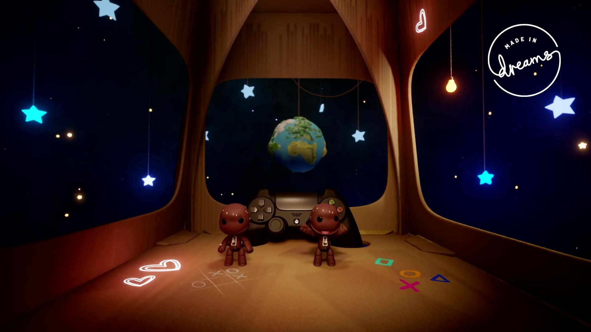 Media Molecule recreated a slice of LittleBigPlanet inside Dreams screenshot