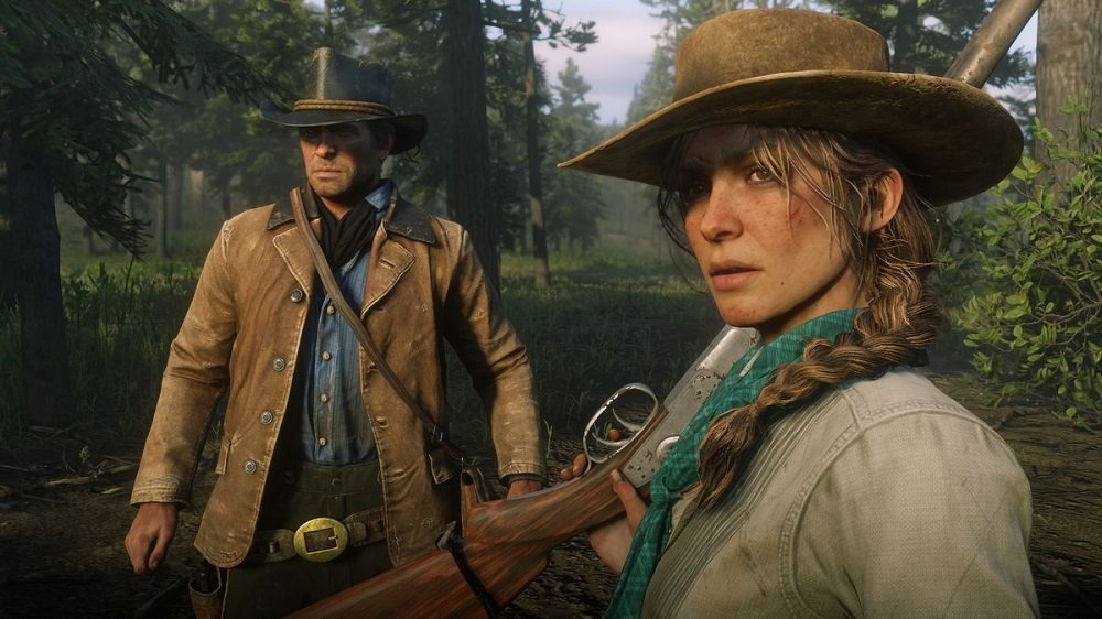 Red Dead celebrates second week standing atop the UK Charts screenshot