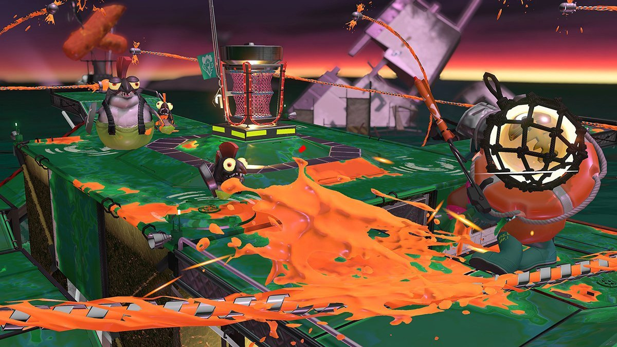 Splatoon 2's amazing Salmon Run mode gets one last map screenshot