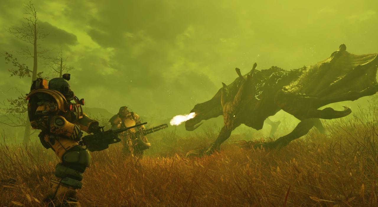 Fallout 76's beta gets a massive 30 GB update screenshot