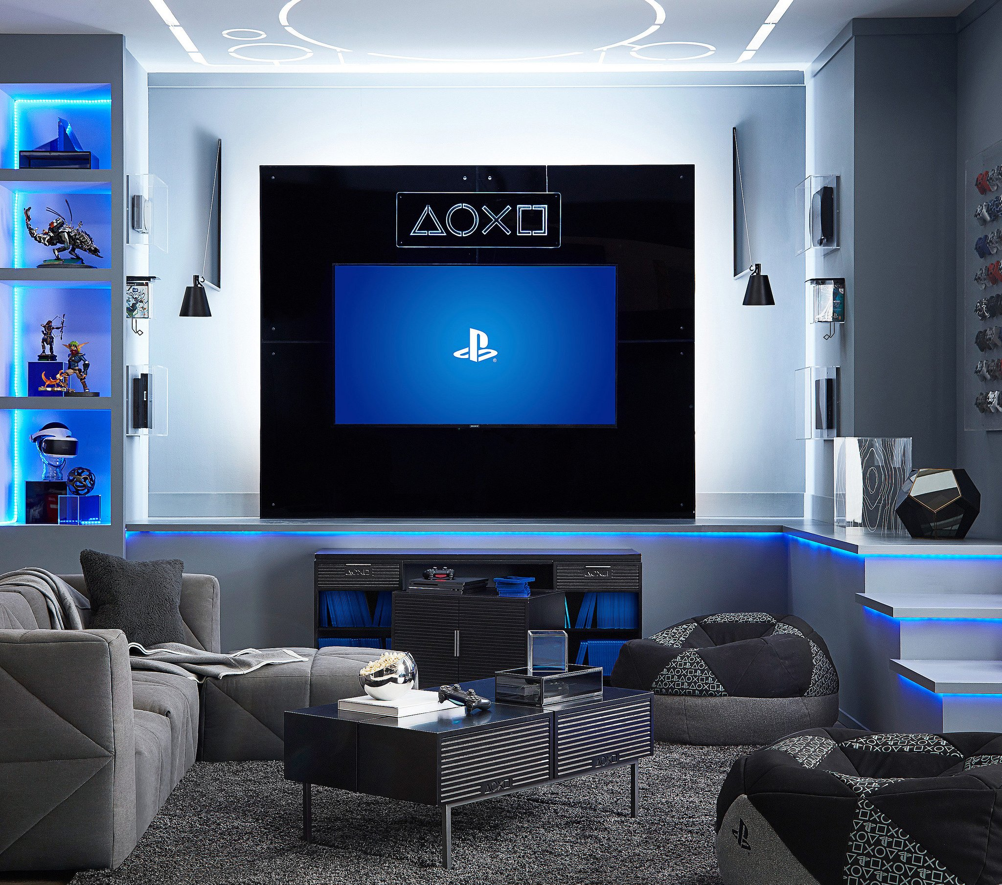 Grab Some Playstation Inspired Furniture To Go With Your Ps4 This