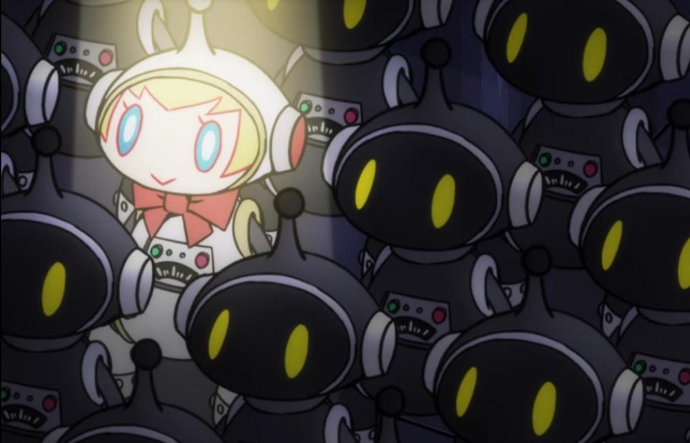 Persona Q2 reveals Aigis' very own sci-fi movie labyrinth screenshot