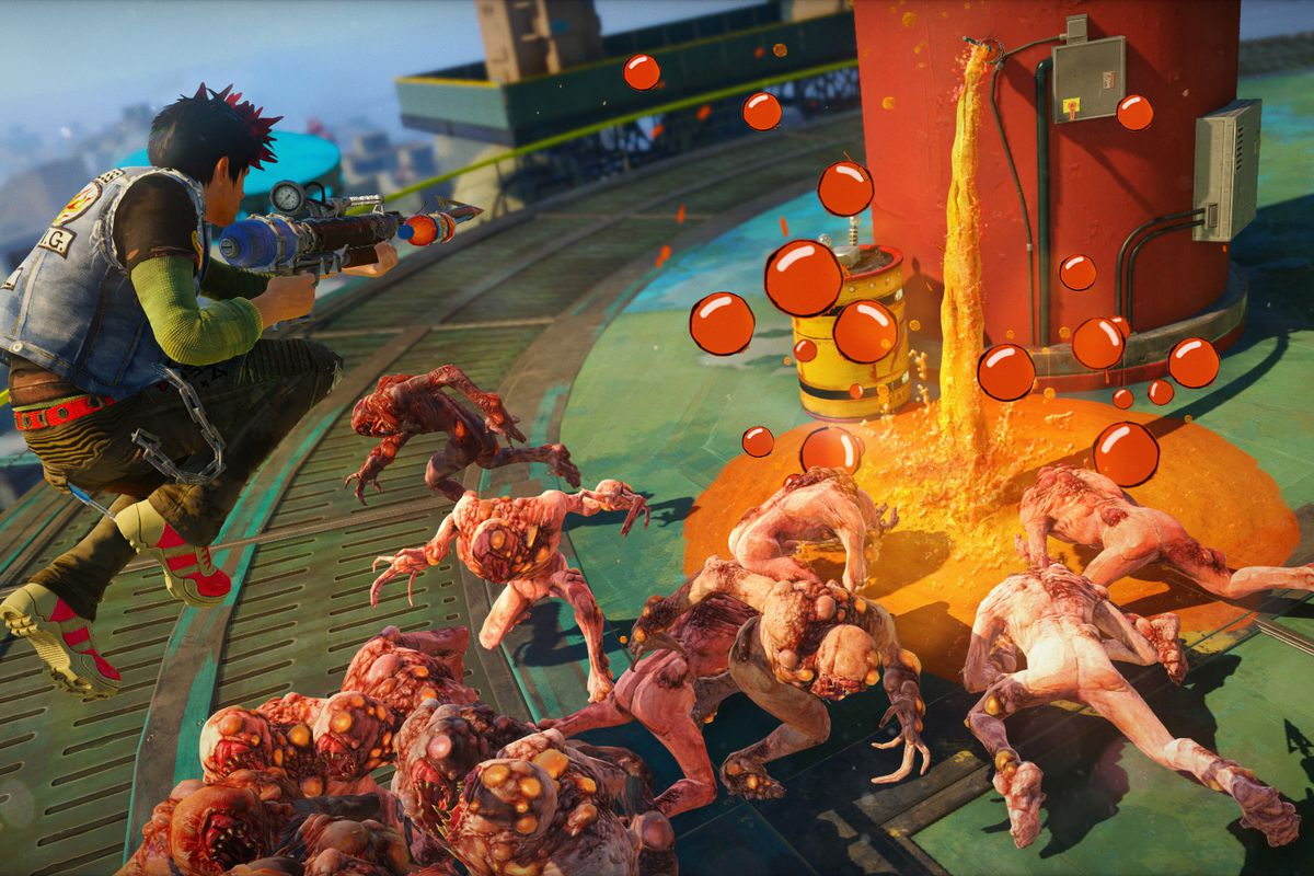 A Steam database entry pretty much ensures Sunset Overdrive is coming to PC screenshot