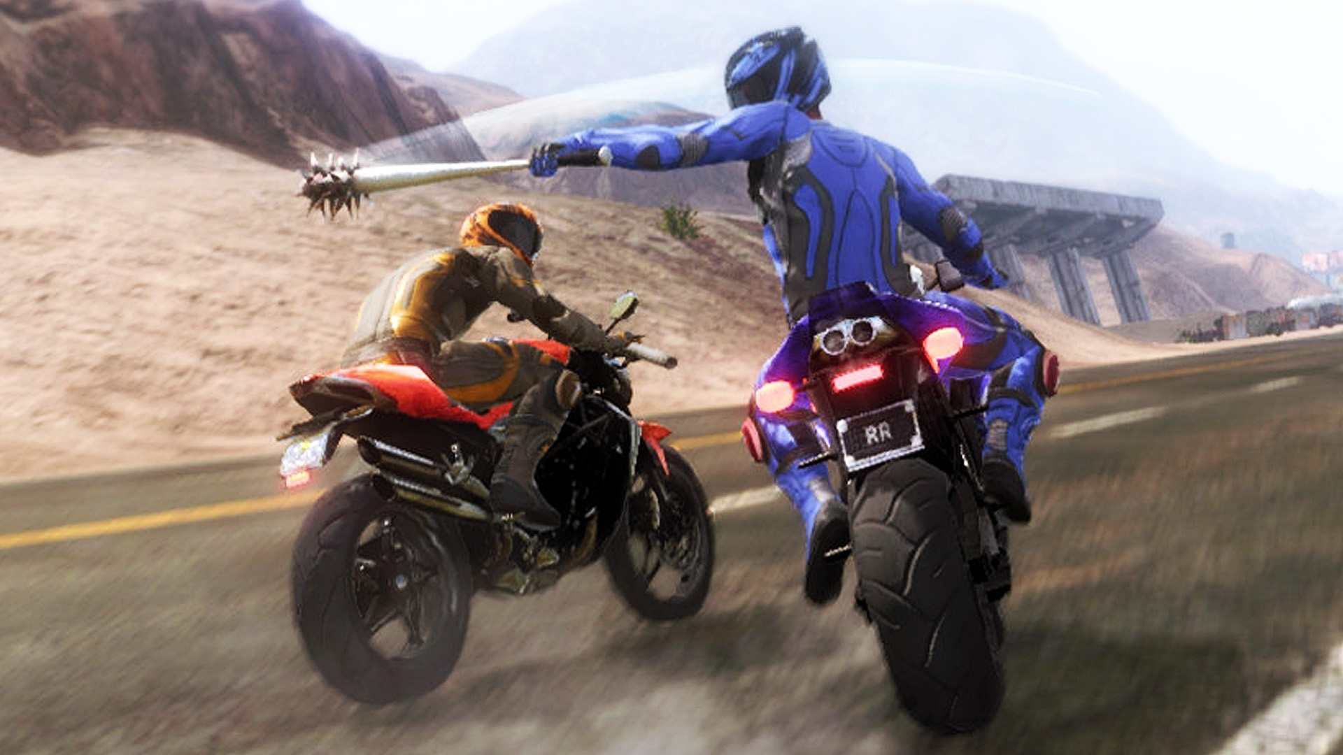 Road Redemption rides its way to Switch and PS4 today screenshot
