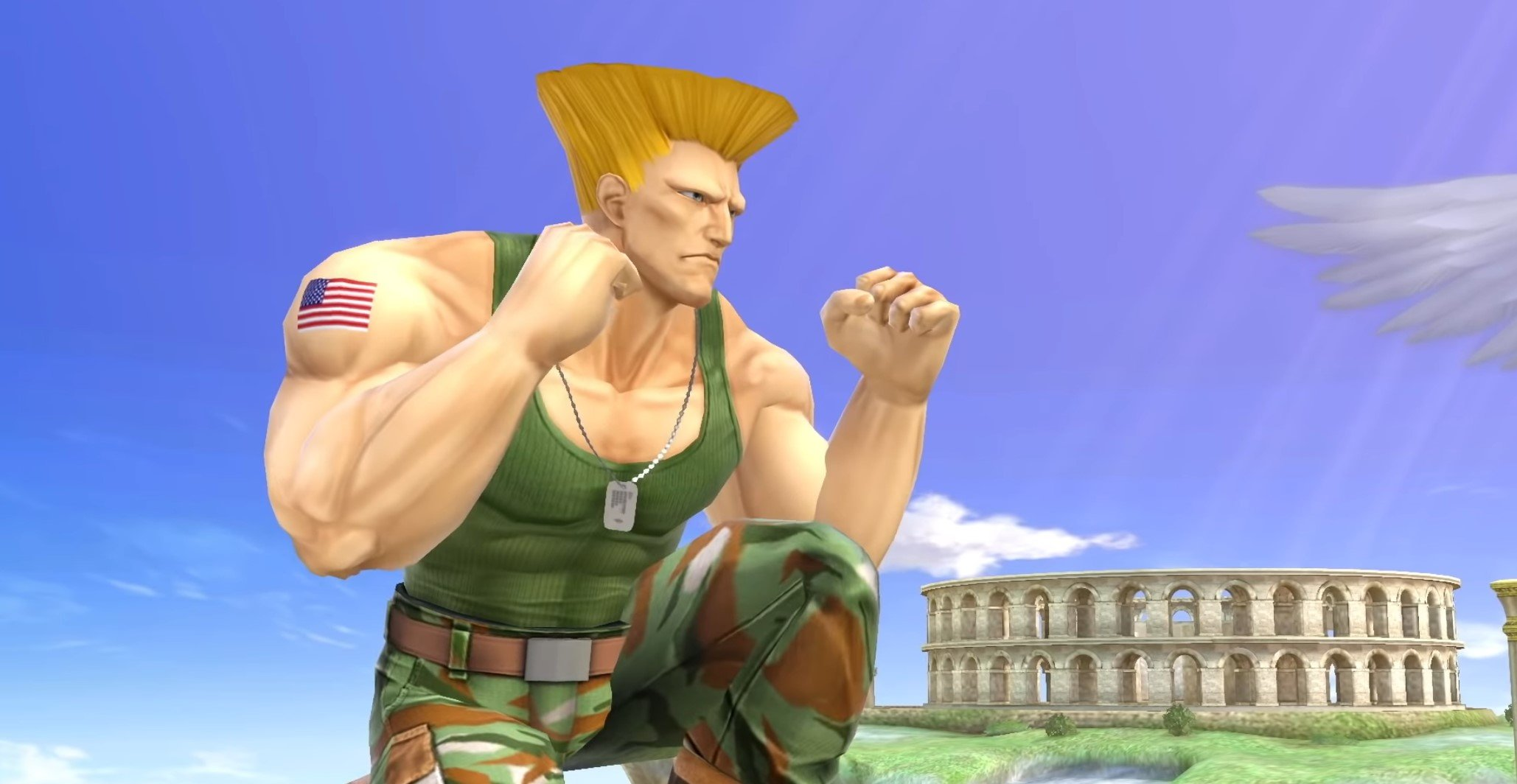 Guile's theme goes with anything, including Super Smash Bros. Ultimate screenshot