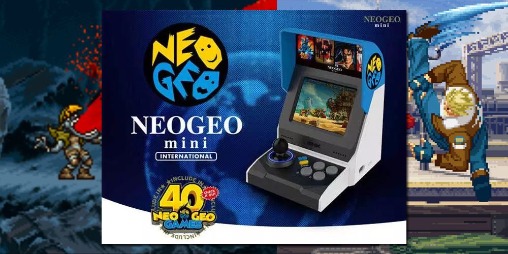 Neo Geo Mini outshines the PS1 Classic, could pave the way
