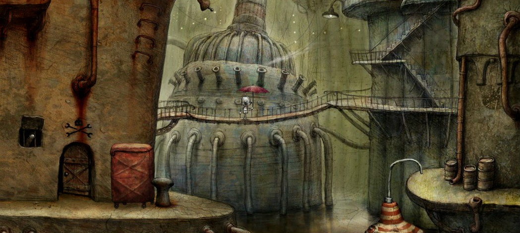 Machinarium on Switch is a great way to experience this quirky classic screenshot