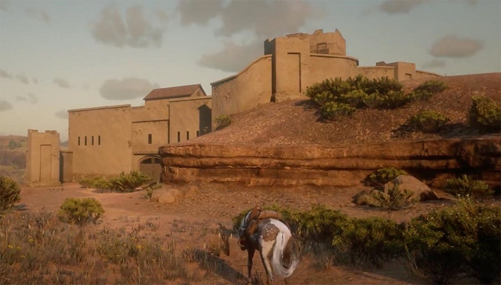 Here's how some Red Dead Redemption 2 players glitched into Mexico screenshot